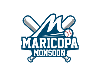 Maricopa Monsoon logo design