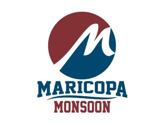 Maricopa Monsoon logo design by Dhieko