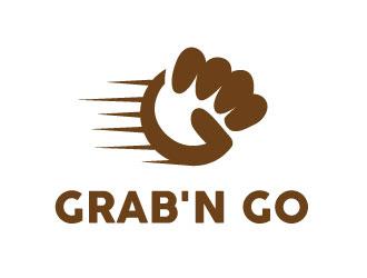 Grabn Go logo design