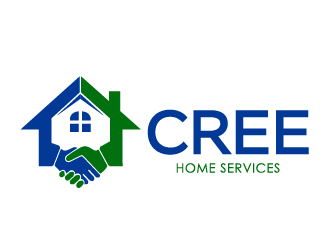 Cree Home Services logo design