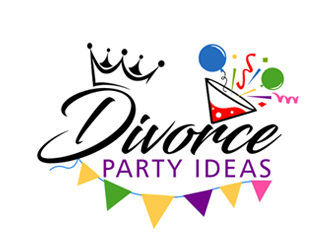 Divorce Party Ideas logo design