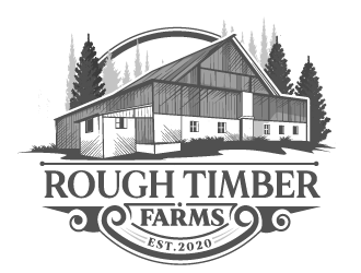 Rough Timber Farms  logo design
