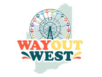 Way Out West logo design