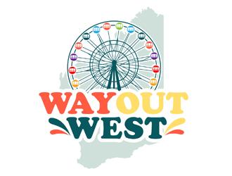 Way Out West logo design