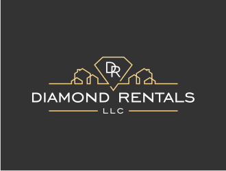 Diamond Rentals LLC logo design