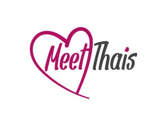 Meet Thais logo design