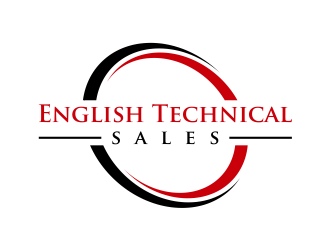 English Technical Sales logo design winner