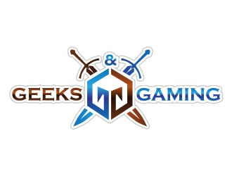 Geeks and Gaming logo design