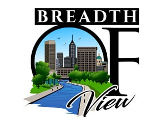Breadth of View  logo design