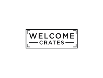 Welcome Crates logo design