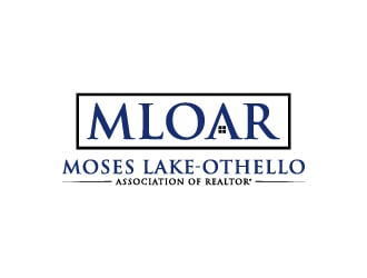 Moses Lake Othello Association of Realtors logo design