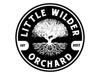 Little Wilder Orchard logo design