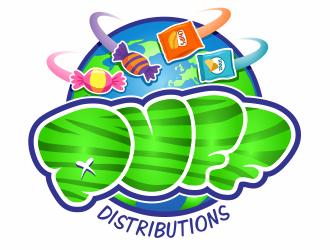 Puff Distributions logo design