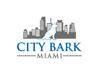 city bark miami logo design