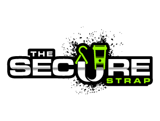 The Secure Strap logo design
