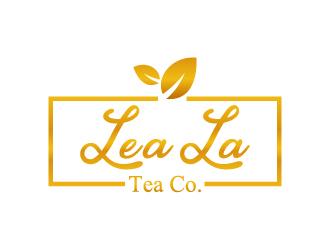 LeaLa Tea Co. logo design by gateout
