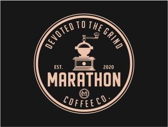 Marathon Coffee Co. logo design