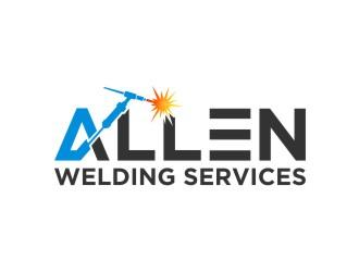 Allen Welding Services logo design