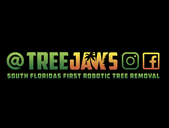 Tree jaws logo design