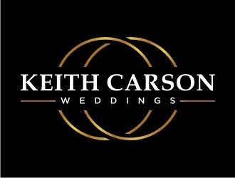 Keith Carson Weddings logo design
