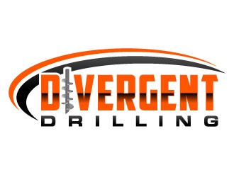 Divergent Drilling (Divergent Drilling Ltd.) logo design winner