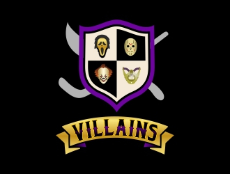 Villains logo design by AnandArts