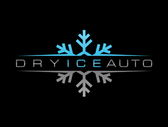 Dry ice Auto logo design