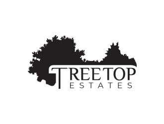 Tree Top Estates logo design