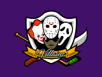 Villains logo design