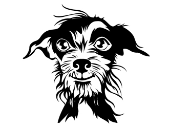 The Allergic Dog logo design
