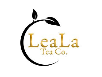 LeaLa Tea Co. logo design by ingepro