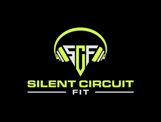 Silent Circuit Fit logo design