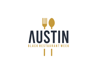 Austin Black Restaurant Week logo design