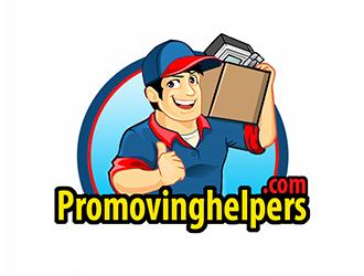 Promovinghelpers.com logo design by Optimus