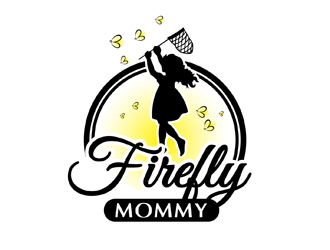 Firefly Mommy logo design