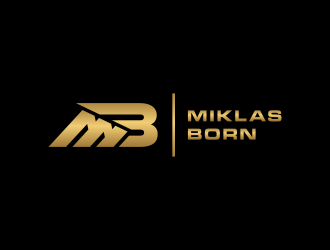 Miklas Born logo design