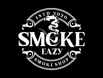 SMOKE EAZY  logo design