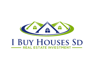 I Buy Houses Sd logo design winner