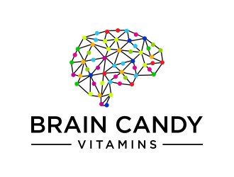 Brain Candy Vitamins logo design