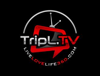 TripL.TV and LiveLoveLife360.com logo design