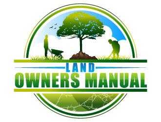 Land Owners Manual logo design by Suvendu