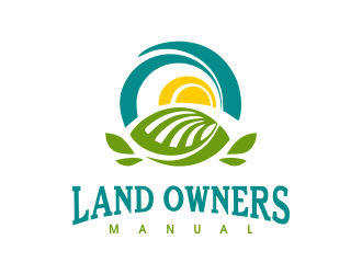 Land Owners Manual logo design by JessicaLopes