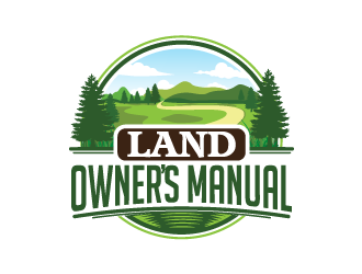 Land Owners Manual logo design by yans