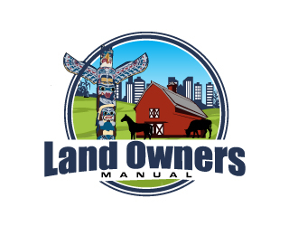 Land Owners Manual logo design by AamirKhan