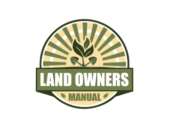 Land Owners Manual logo design by bismillah