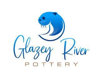 GLAZEY RIVER POTTERY logo design by daywalker