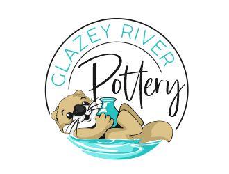 GLAZEY RIVER POTTERY logo design by veron