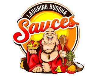Laughing Buddha Sauces logo design