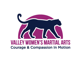 Valley Womens Martial Arts logo design