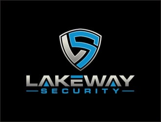 Lakeway Security (LS) logo design